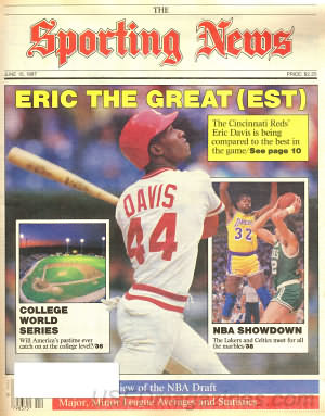 Sporting News June 15, 1987