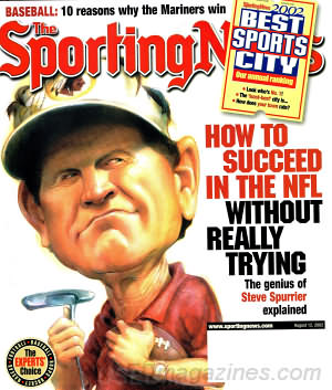 Sporting News August 12, 2002