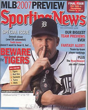 Sporting News April 2, 2007
