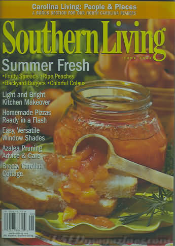 Southern Living June 2003