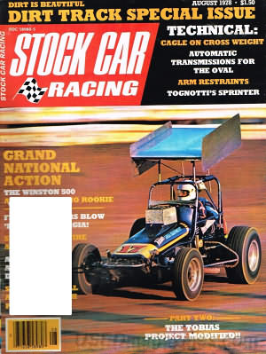 Stock Car Racing August 1978