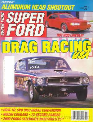 Super Ford August 1989