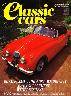 Thoroughbred & Classic Cars October 1987