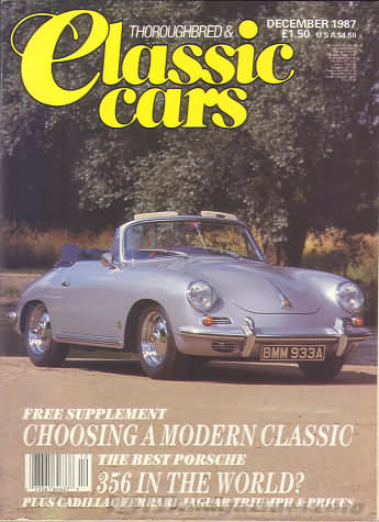 Thoroughbred & Classic Cars December 1987