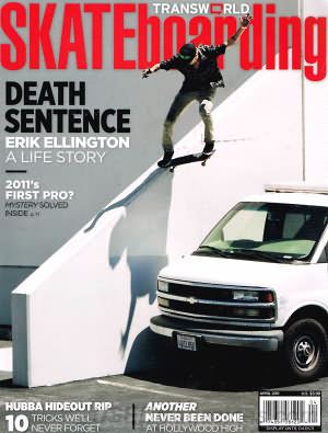 Transworld Skateboarding April 2011
