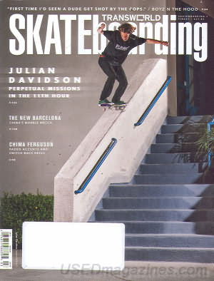 Transworld Skateboarding March 2013