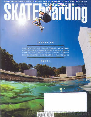 Transworld Skateboarding April 2013