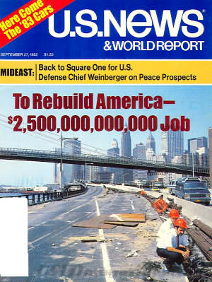 U.S. News & World Report September 27, 1982