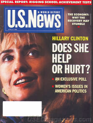U.S. News & World Report April 27, 1992