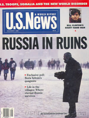 U.S. News & World Report December 07, 1992