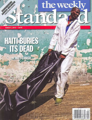 the weekly Standard March 01, 2010