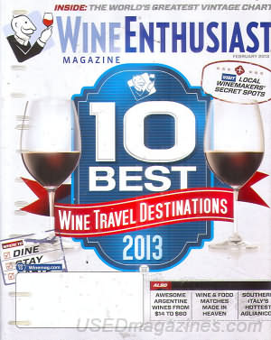 Wine Enthusiast February 2013