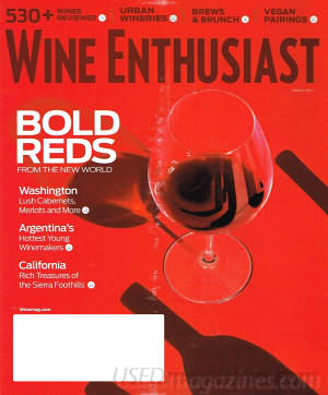 Wine Enthusiast March 2016