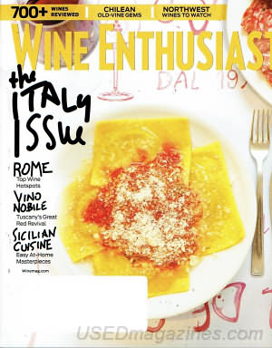 Wine Enthusiast April 2017