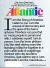 Atlantic Monthly, The July 1976