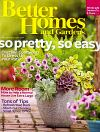 Better Homes and Gardens May 2010