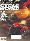 Cycle World November 1983