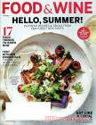 Food & Wine July 2017