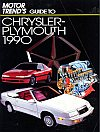 Motor Trend Guide to Chrysler-Plymouth 1990