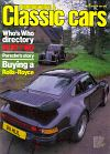 Thoroughbred & Classic Cars December 1981