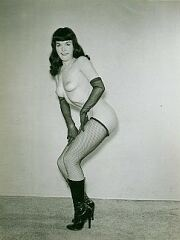 Bettie Page Photograph Number 56
