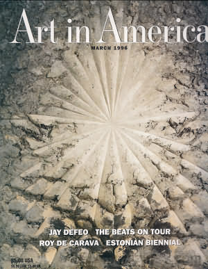 Art in America March 1996