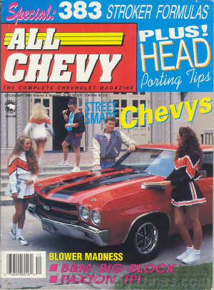 All Chevy December 1991