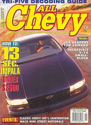 All Chevy November 1995