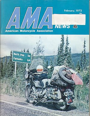 American Motorcycle Association News February 1972