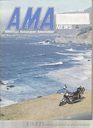 American Motorcycle Association News April 1972