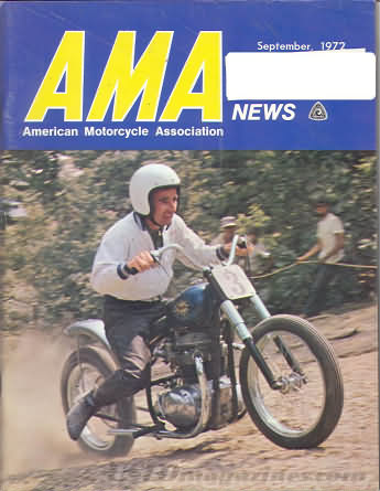 American Motorcycle Association News September 1972