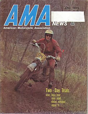 American Motorcycle Association News June 1973