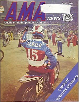 American Motorcycle Association News April 1974