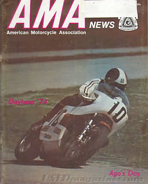 American Motorcycle Association News May 1974