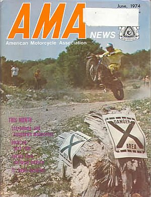 American Motorcycle Association News June 1974
