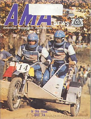 American Motorcycle Association News December 1974