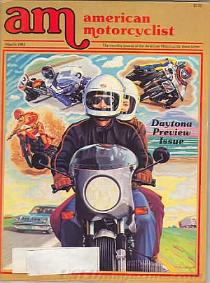 American Motorcyclist March 1983