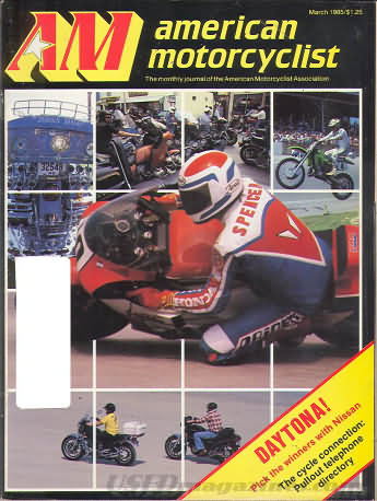 American Motorcyclist March 1985