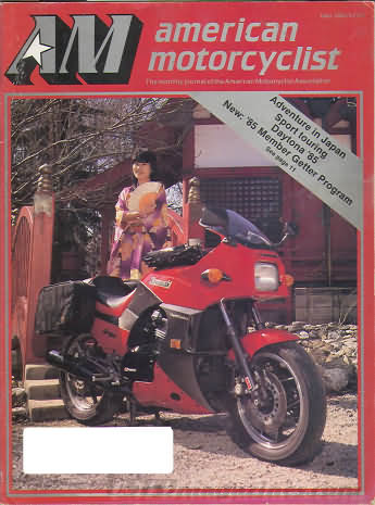 American Motorcyclist May 1985