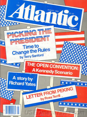 Atlantic Monthly, The August 1980
