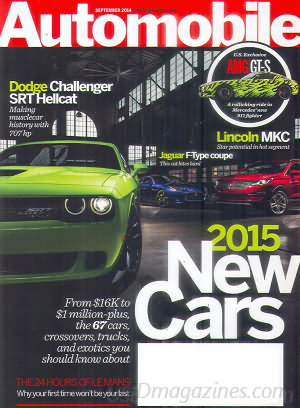 Automobile September 2014