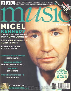BBC Music March 2000