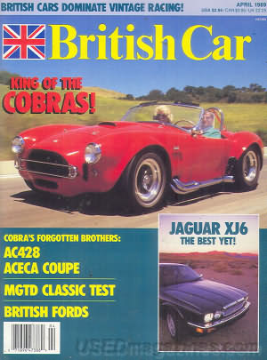 British Car April 1989