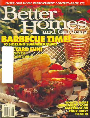 Better Homes and Gardens June 1990