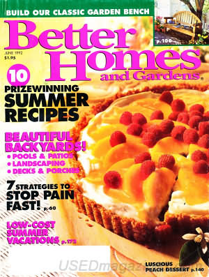 Better Homes and Gardens June 1992
