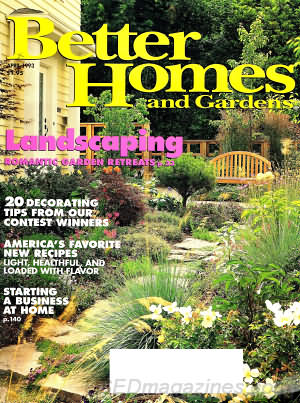 Better Homes and Gardens April 1993