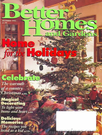 Better Homes and Gardens December 1993