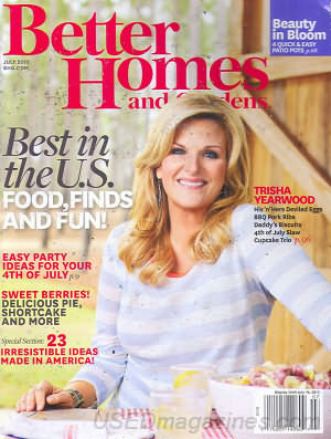 Better Homes and Gardens July 2013