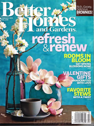 Better Homes and Gardens February 2015