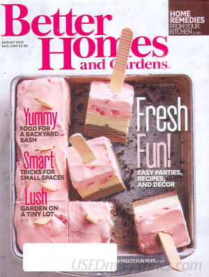 Better Homes and Gardens August 2015
